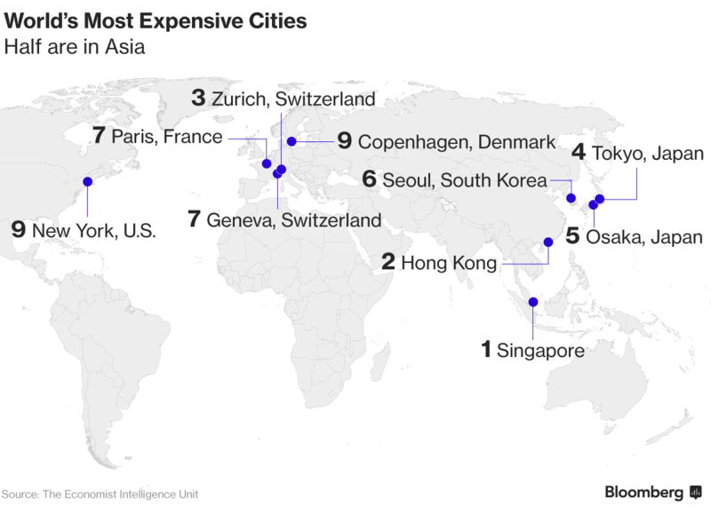 Singapur_a_Hong_Kong_su_najdrahsimi_mestami_sveta_2017_graf