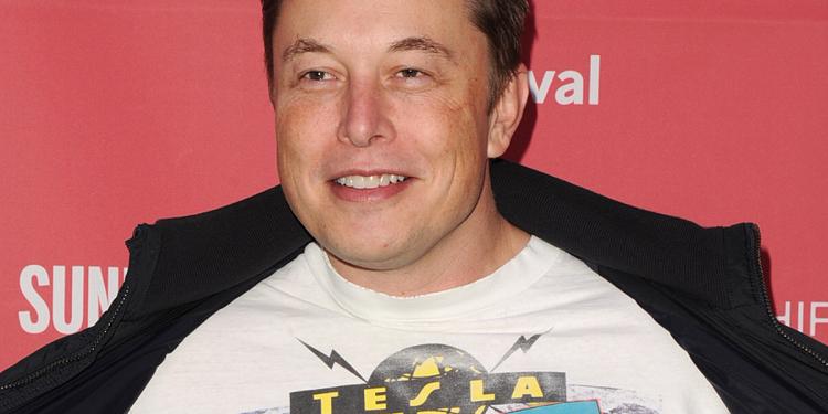 Elon Musk, generálny riaditeľ spoločnosti Tesla.
