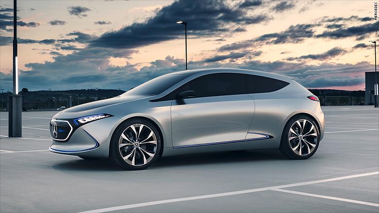 Mercedes Concept EQa.
