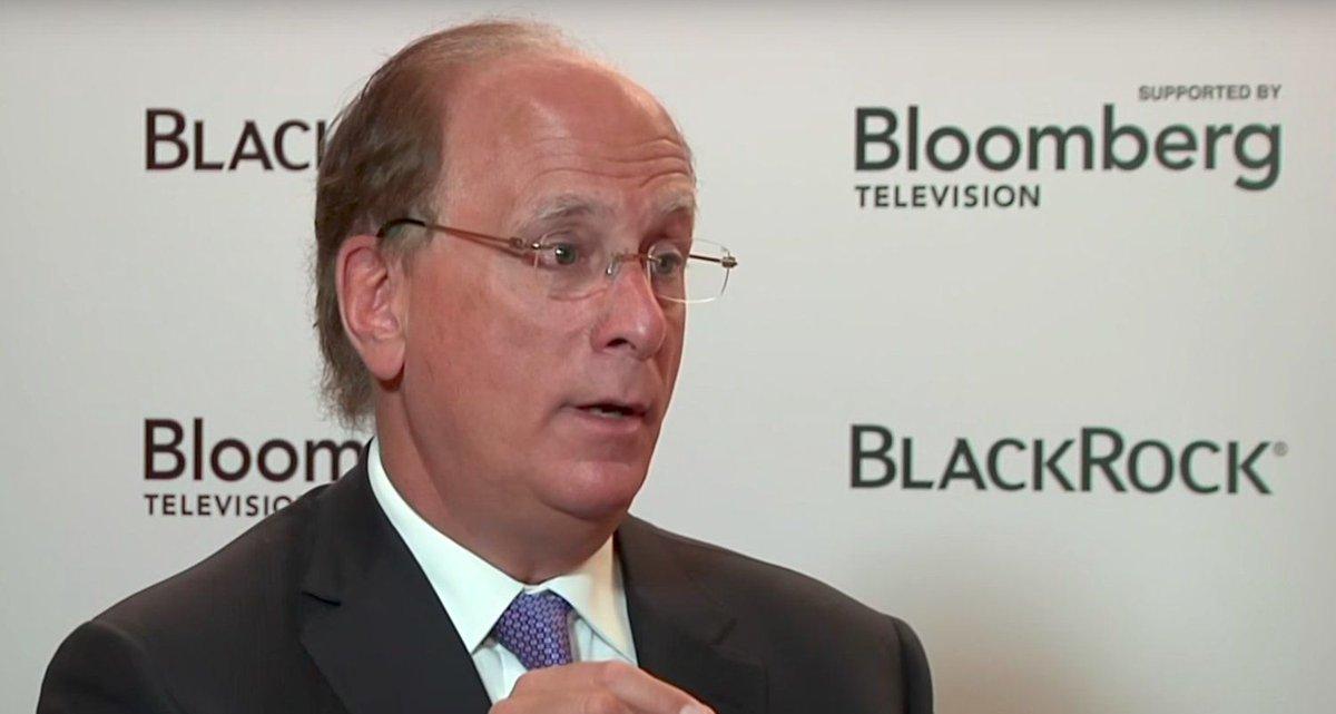 Generálny riaditeľ spoločnosti BlackRock, Larry Fink.