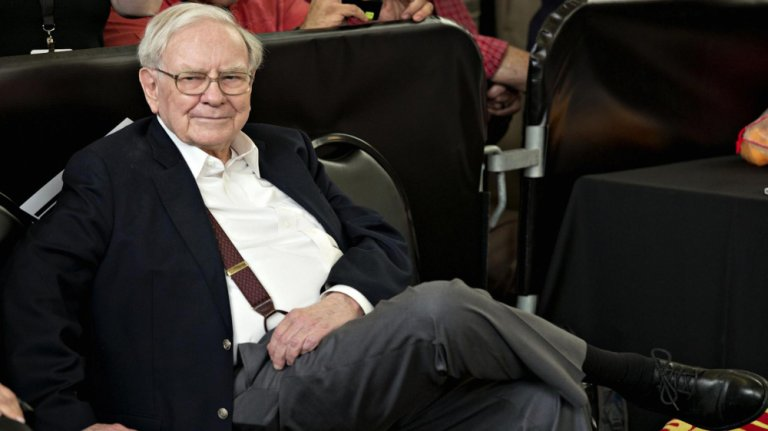 Warren Buffett, generálny riaditeľ spoločnosti Berkshire Hathaway.