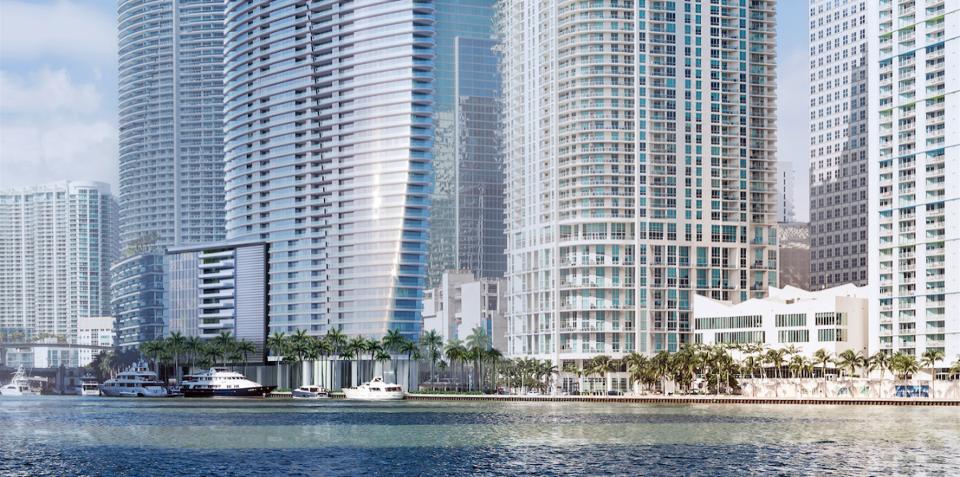 [OBR] Budova Aston Martin Residences bude v meste Miami situovaná na prominentnej parcele vedľa vody.