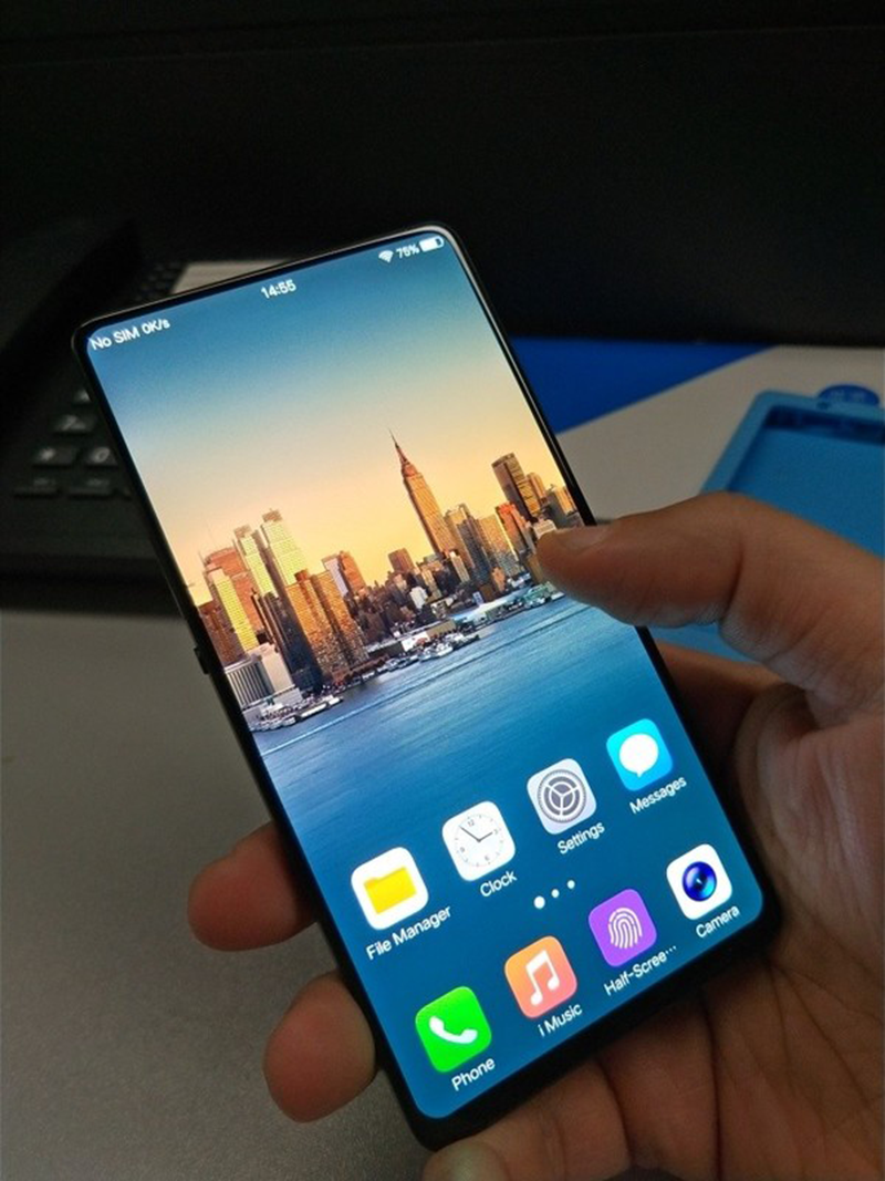 Koncept smartfónu bez okrajov od značky Vivo.
