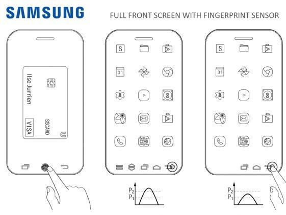 Patent spoločnosti Samsung na smartfón bez okrajov.