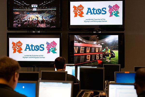 Pre tím spoločnosti Atos v Londýne, počas Letných Olympijských hier roka 2012 pracovalo 330 ľudí.