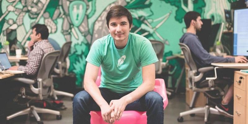 Generálny riaditeľ a spoluzakladateľ firmy Robinhood - Vlad Tenev.
