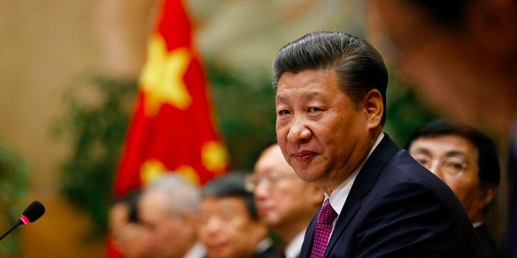 Čínsky prezident Xi Jinping počas stretnutia v európskej centrále Organizácie spojených národov v Ženeve, Švajčiarsku. 18. január roku 2017.