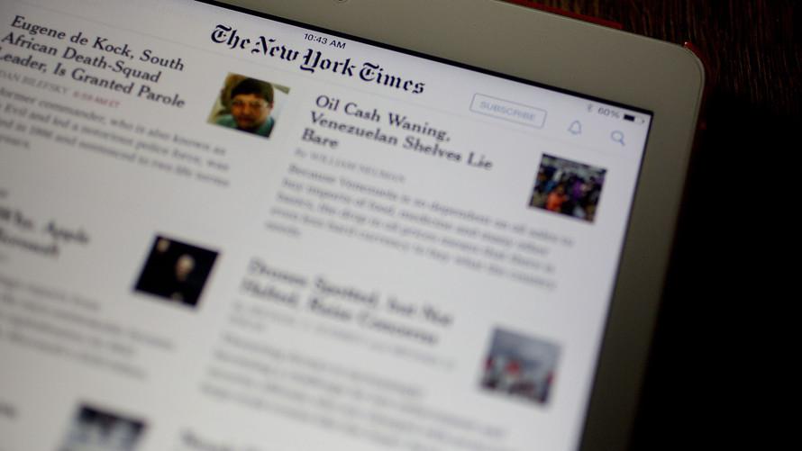 Spoločnosť New York Times zaznamenala vysoký nárast v oblasti digitálnych predplatiteľov a výnosov z reklamy.