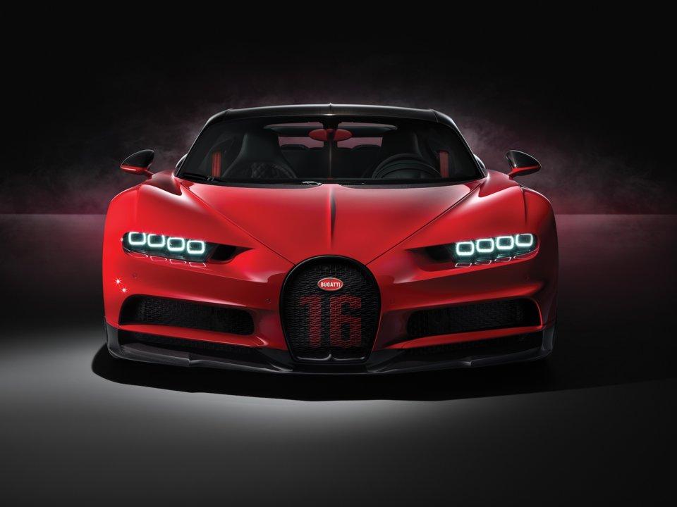 Bugatti Chiron Sport.