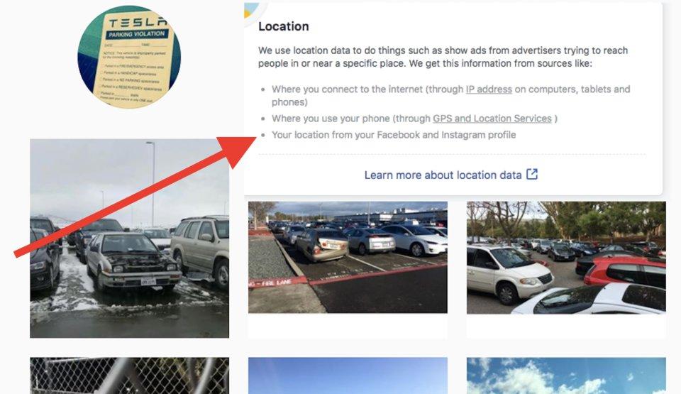 Jedna z mnohých stránok v rámci nastavení Facebooku, ktorá Vám priamo potvrdzuje, akým spôsobom využíva sociálna sieť Vaše údaje za cieľom získania peňazí.