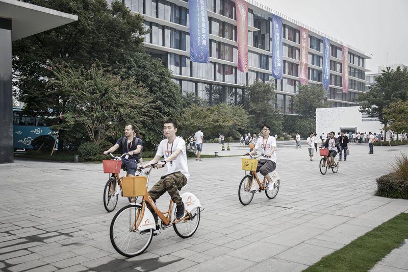 Sídlo spoločnosti Alibaba v Hangzhou, v Číne.