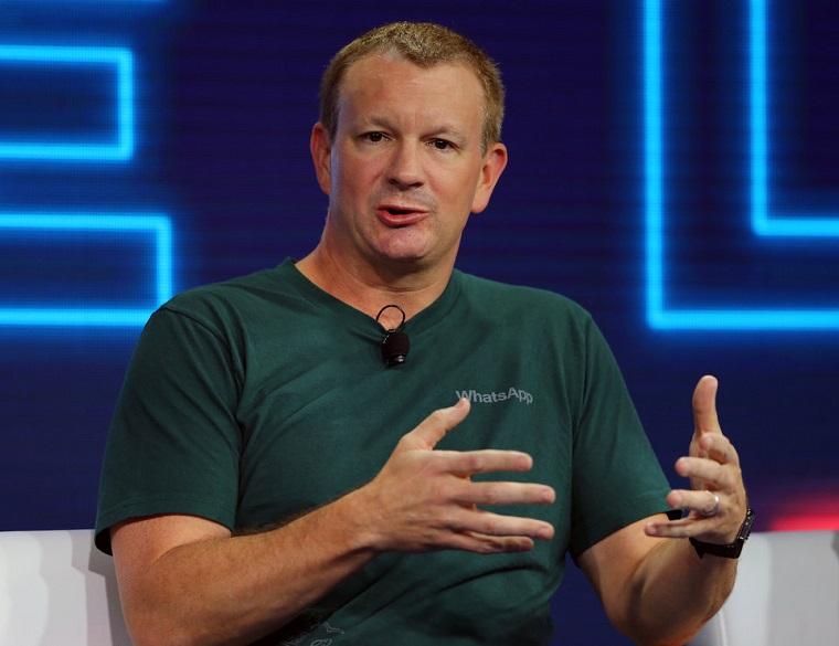 Brian Acton, spoluzakladateľ spoločnosti WhatsApp.