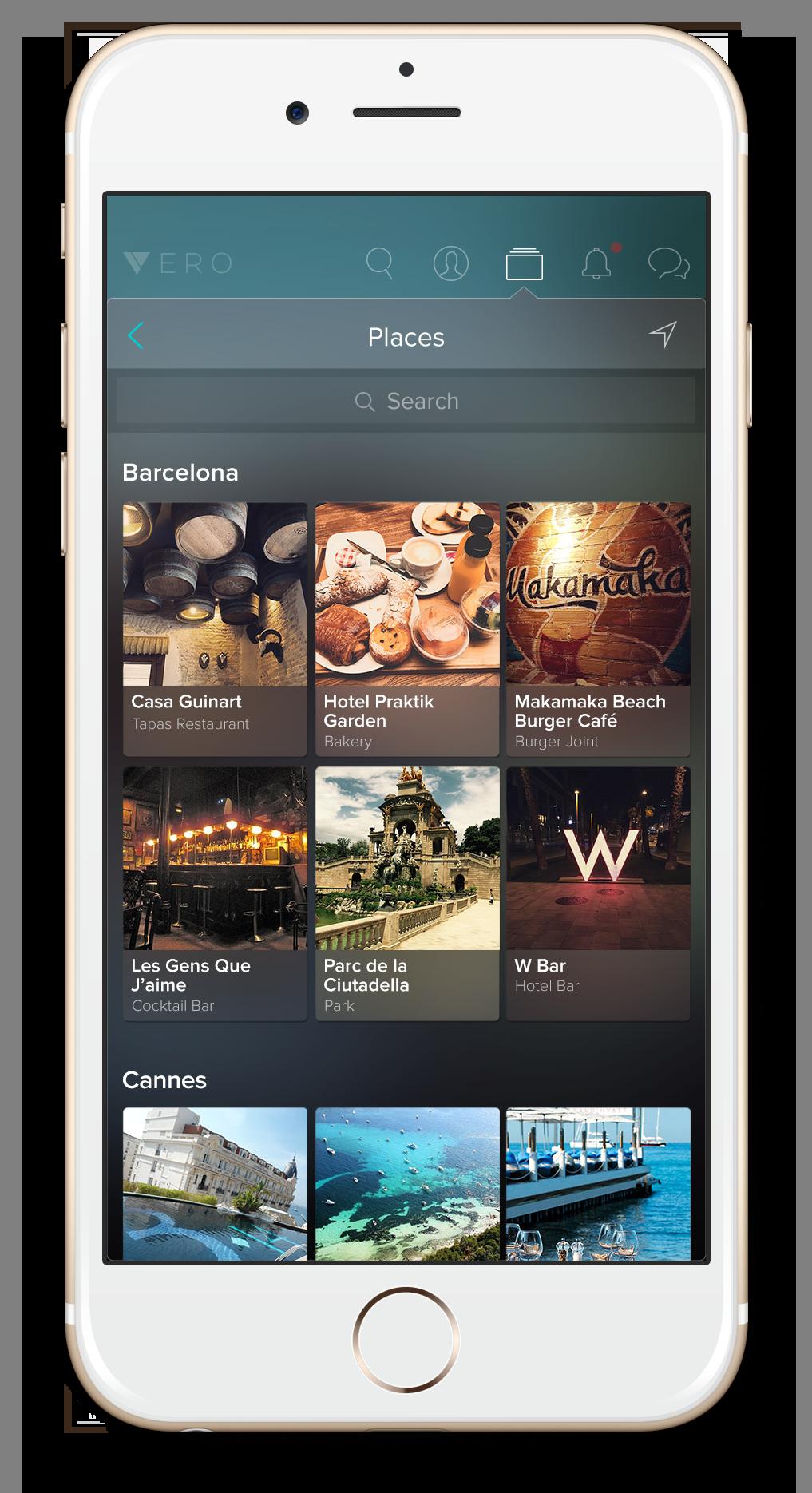 Aplikácia Vero je bezplatná pre prvých milión užívateľov.