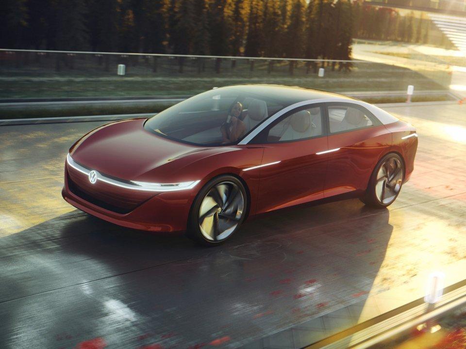 I.D. Vizzion od spoločnosti Volkswagen je pohľadom do budúcnosti automobilového priemyslu.