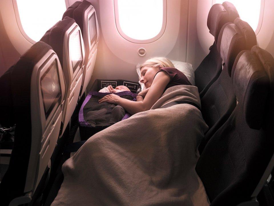 Spoločnosť Air New Zealand dúfa, že urobí lietanie jednoduchším pre rodičov s deťmi