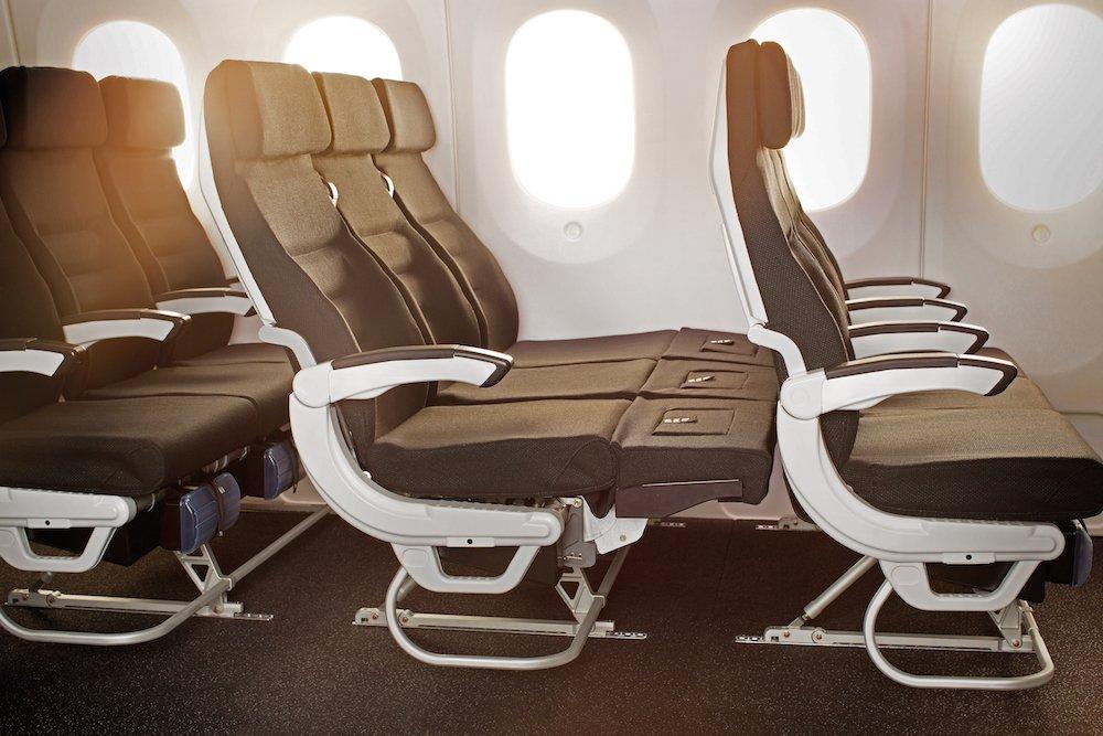 Skycouch spoločnosti Air New Zealand