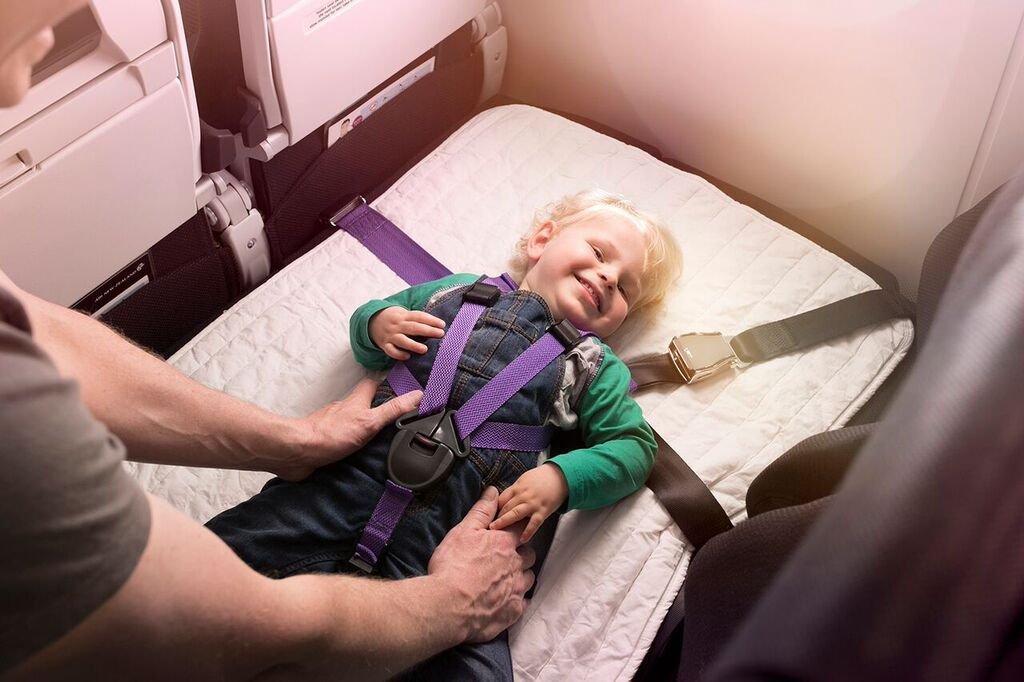 Nový postroj a bezpečnostný pás pre malé deti.