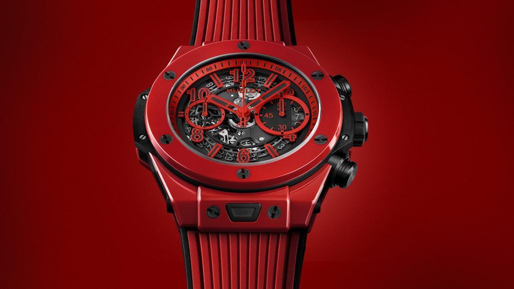 Znacka_Hublot_predstavila_prve_cervene_keramicke_hodinky