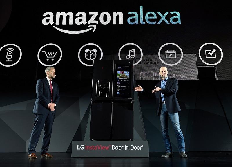 Virtuálne asistentka spoločnosti Amazon - Alexa.