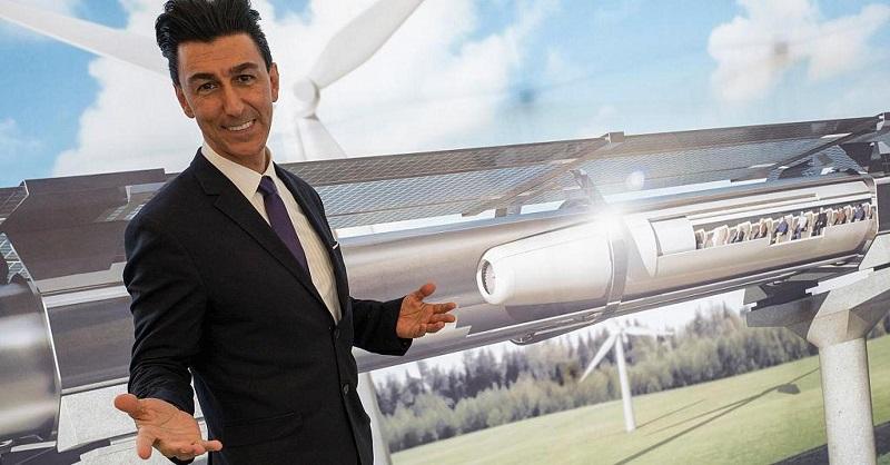 Bibop Gresta, predseda spoločnosti Hyperloop Transportation Technologies.