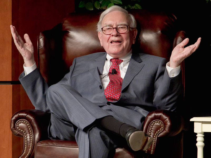 Warren Buffet.