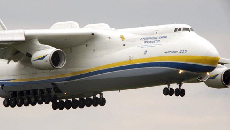 Model An-225 Mriya od spoločnosti Antonov.