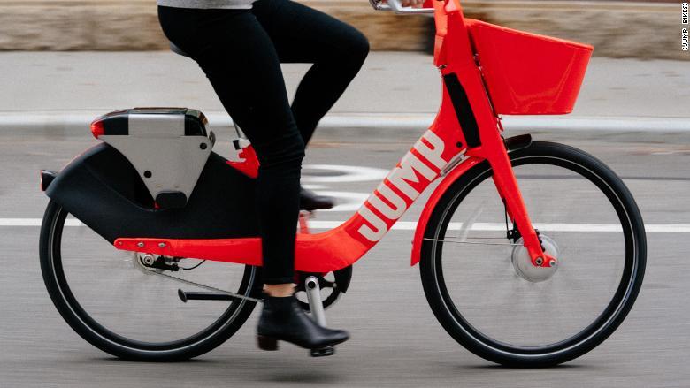 Elektrický bicykel Jump.