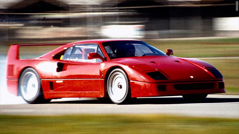 Ferrari F40 bolo jedným z mnohých vozidiel Pininfarina určených pre Ferrari.
