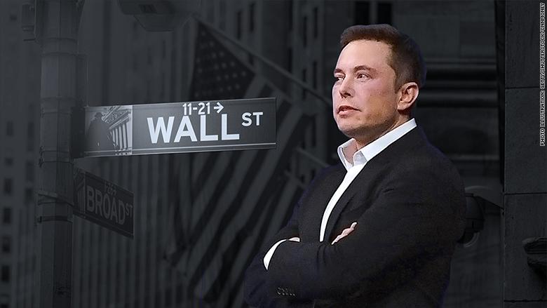 Tesla vs. Wall Street.