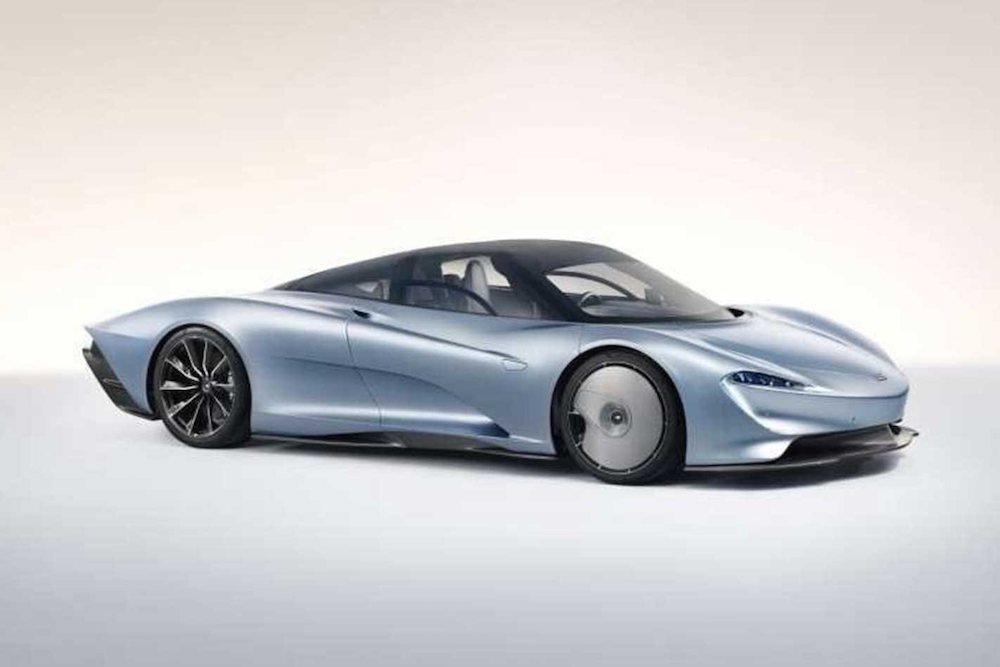 Mclaren Speedtail je optimalizovaný pre aerodynamiku.