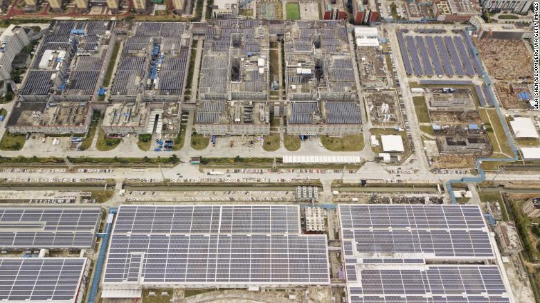 Centrála a výrobný komplex čínskeho giganta v oblasti batérií CATL v Ningde, juhovýchodnej Číne.