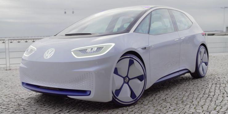 Elektromobil od spoločnosti Volkswagen.