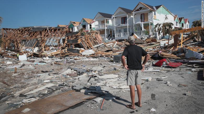 Florida Panhandle v októbri čelila hurikánu Michael.