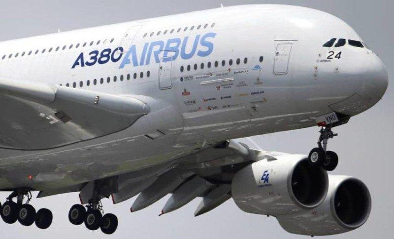 Lietadlo A380.