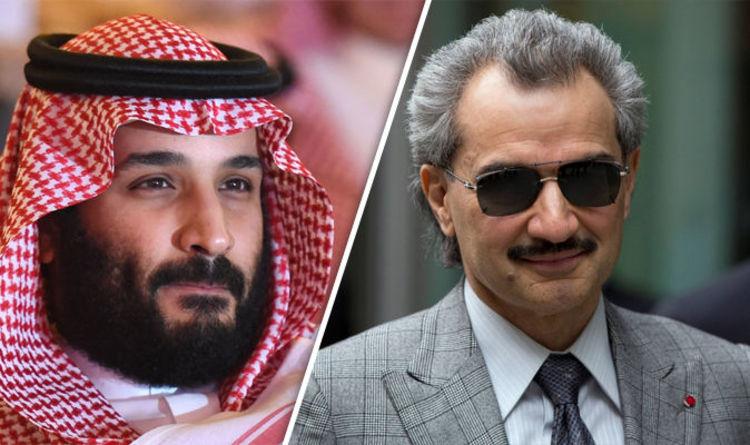 Alwaleed bin Talal a princ Mohammed bin Salman.