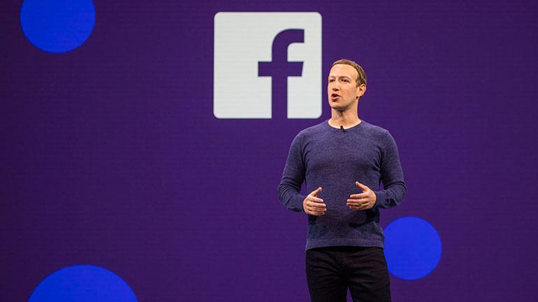 CEO Facebooku - Mark Zuckerberg.
