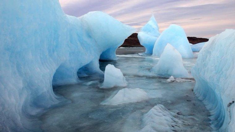 Topenie ľadovcov.