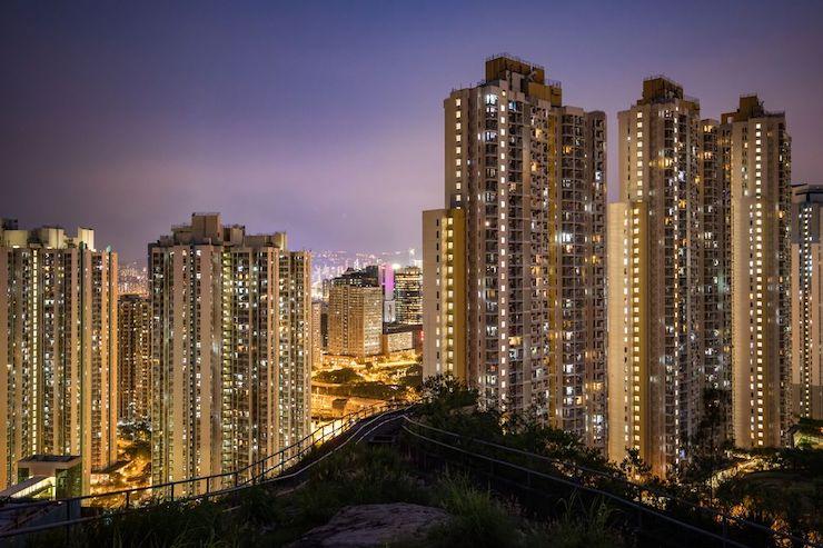 Rezidenčné nehnuteľnosti v Hong Kongu.