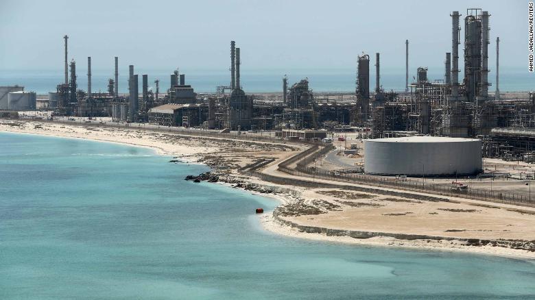 General view of Saudi Aramco's Ras Tanura oil refinery and oil terminal in Saudi Arabia May 21, 2018. Picture taken May 21, 2018. REUTERS/Ahmed Jadallah