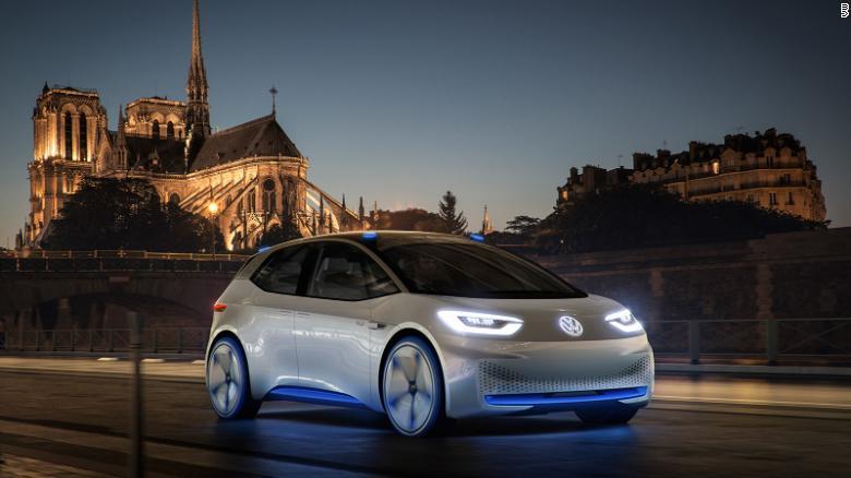 VW ID, predstavené v Paríži v roku 2016.