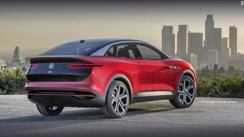 VW ID Crozz je elektrickým crossoverom SUV, zameraný na americký trh.