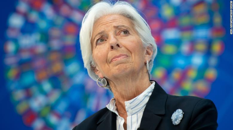 Christine Lagardeová.