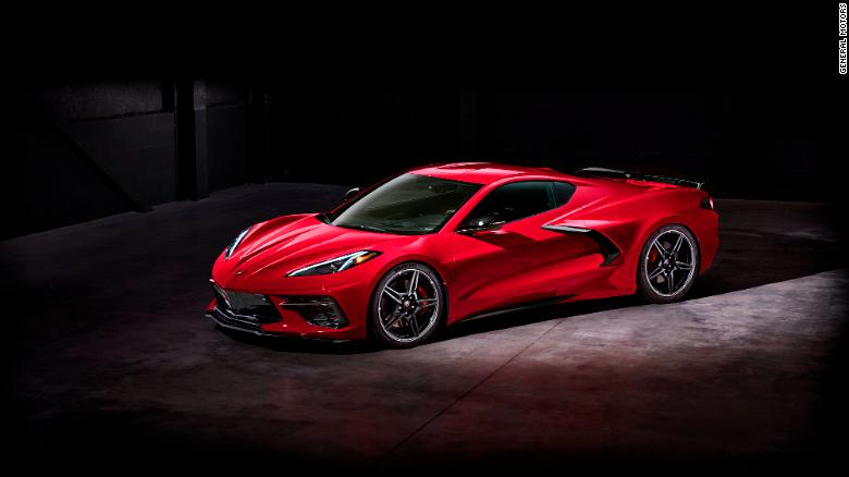 Nová Chevrolet Corvette.