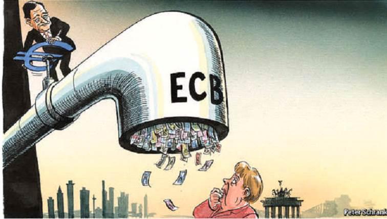ECB_znizila_sadzby_a_zacina_novy_program_nakupu_dlhopisov