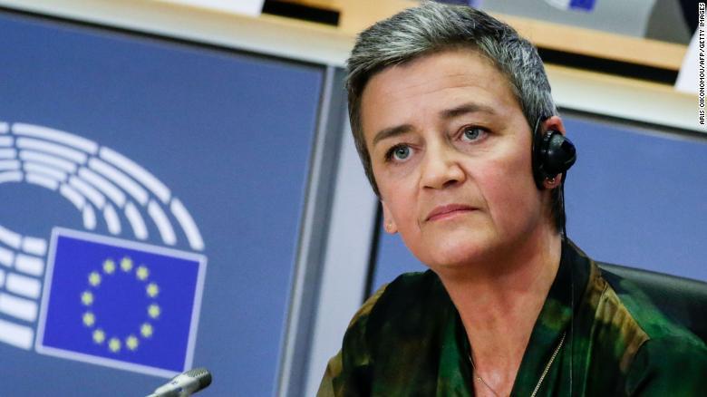 Eurokomisárka pre hospodársku súťaž Margrethe Vestagerová.