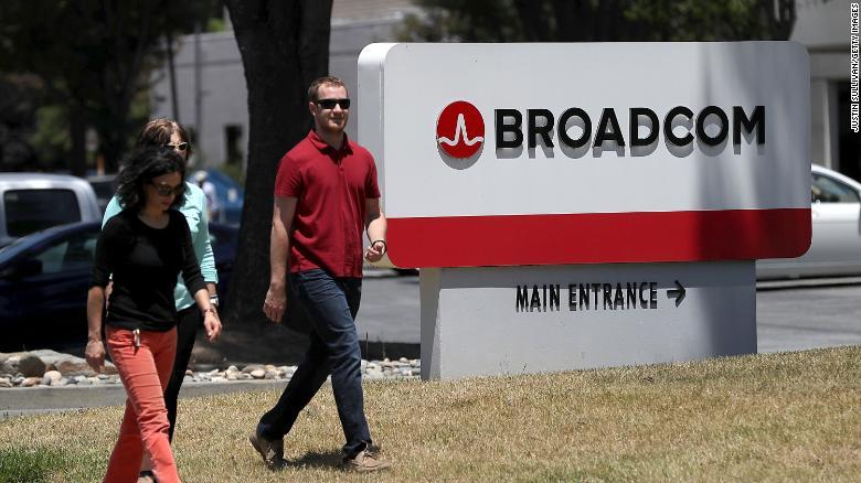 Kancelárie spoločnosti Broadcom v San Jose v Kalifornii.