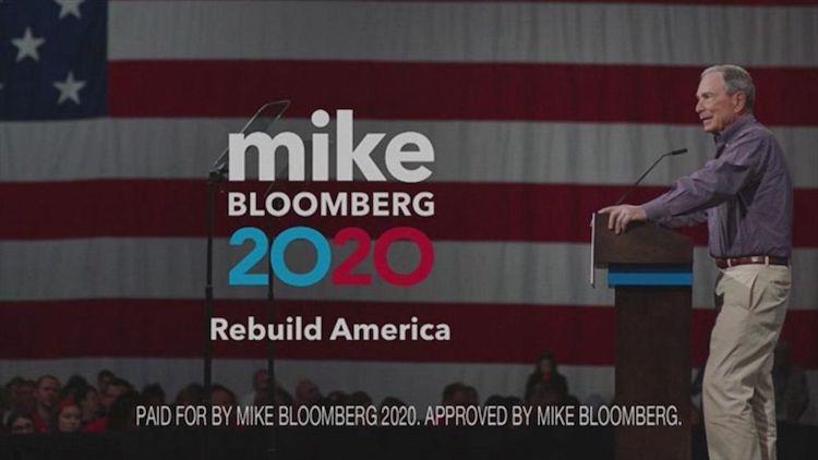 Michael Bloomberg a kampaň na prezidentské voľby v roku 2020.