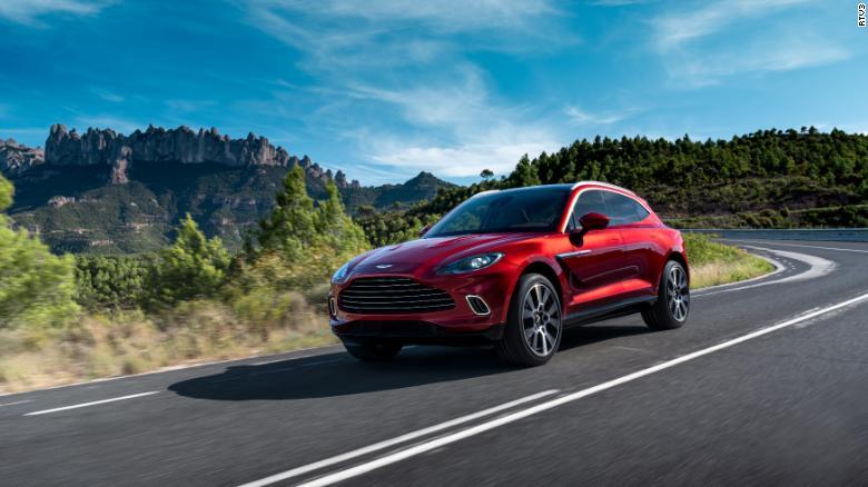 Aston Martin DBX je prvý SUV britskej športovej značky.