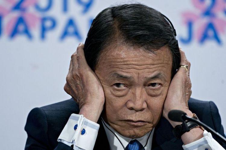 Japonský minister.