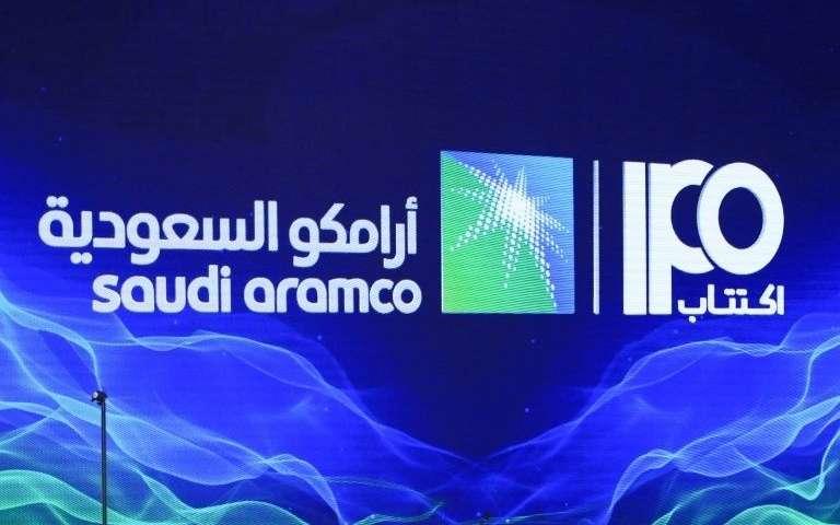 IPO spoločnosti Saudi Aramco.